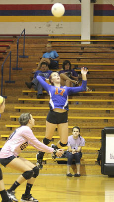 "<div class=""source"">Brandon Mattingly</div><div class=""image-desc"">Junior Johanna Spalding elevated for a kill in the Commanderettes' semifinal win over Campbellsville.</div><div class=""buy-pic""><a href=""/photo_select/14874"">Buy this photo</a></div>"