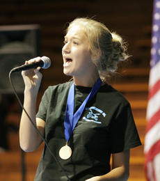 "<div class=""source"">Jeff Moreland</div><div class=""image-desc"">WCHS student Mary Kutter performed the song ""American Tears"" as part of the Veteran's Day ceremony Friday.</div><div class=""buy-pic""><a href=""/photo_select/381"">Buy this photo</a></div>"