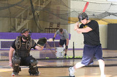"<div class=""source"">Jimmie Earls</div><div class=""image-desc"">The ball finds the mitt of SCC sophomore catcher Jared Yates, left, as junior Justin Witt, right, holds up on a swing. The Patriots are prepping for their upcoming season which starts Feb. 20 at home against Grace College.</div><div class=""buy-pic""><a href=""/photo_select/922"">Buy this photo</a></div>"