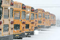 """<div class=""""source"""">Jimmie Earls</div><div class=""""image-desc"""">Washington County school buses have been parked quite a bit recently as an ice and snow storm slammed the county, causing students to be out of school all of last week, and the first two days of this week. More snow fell early Tuesday morning, but no deci</div><div class=""""buy-pic""""><a href=""""/photo_select/1481"""">Buy this photo</a></div>"""