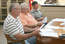 "<div class=""source"">Jimmie Earls</div><div class=""image-desc"">From left, Washington County magistrates Billy Riney, Benjamin Settles and Terry Tingle listen to debates about county insurance coverage at last Friday's fiscal court meeting.</div><div class=""buy-pic""><a href=""/photo_select/690"">Buy this photo</a></div>"