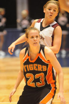 """<div class=""""source"""">Richard RoBards</div><div class=""""image-desc"""">Katie Filiatreau played her final game as a Lady Tiger Saturday in Frankfort.</div><div class=""""buy-pic""""><a href=""""/photo_select/5067"""">Buy this photo</a></div>"""