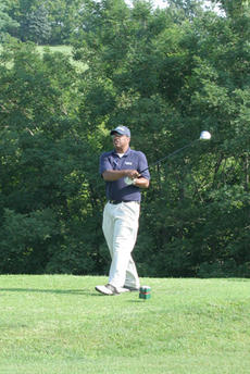 """<div class=""""source"""">Jimmie Earls</div><div class=""""image-desc"""">Issac Frye watches his drive from the sixth hole of Lincoln Homestead Golf Course during the African-American Heritage Golf Scramble held Saturday in Springfield.</div><div class=""""buy-pic""""><a href=""""/photo_select/6656"""">Buy this photo</a></div>"""