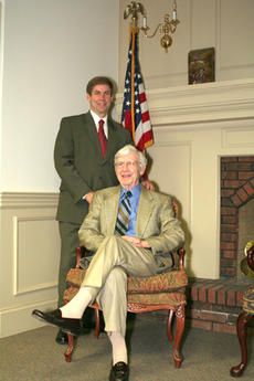 """<div class=""""source"""">Jimmie Earls</div><div class=""""image-desc"""">Retired Army Col. Arthur L. Kelly, seated, and his son retired Army Lt. Col. Dan Kelly, standing, will serve as the grand marshals for the city of Springfield's 10th Annual Independence Day Parade this Friday.</div><div class=""""buy-pic""""><a href=""""http://web2.lcni5.com/cgi-bin/c2newbuyphoto.cgi?pub=023&orig=web-kellys.jpg"""" target=""""_new"""">Buy this photo</a></div>"""
