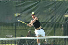 "<div class=""source"">Jimmie Earls</div><div class=""image-desc"">Washington County sophomore Cyrus Moslemi follows through on a return to Ashland's Stephen Metcalf Thursday evening. Moslemi won the match 6-0, 6-2 to advance to the round of 16 in the Kentucky Boy's State Tennis Tournament in Lexington.</div><div class=""buy-pic""><a href=""/photo_select/723"">Buy this photo</a></div>"