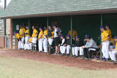 "<div class=""source"">Jimmie Earls</div><div class=""image-desc"">SCC head coach Luther Bramblett, left, watches closely as his baseball Patriots mow down another opponent. The 21-7 Bat Pats are one of the top teams in USCAA rankings. They face Lindsey Wilson College in Mid-South Conference action this weekend.</div><div class=""buy-pic""><a href=""http://web2.lcni5.com/cgi-bin/c2newbuyphoto.cgi?pub=023&orig=web-patriots.jpg"" target=""_new"">Buy this photo</a></div>"