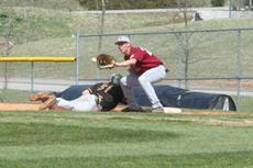 """<div class=""""source"""">Jimmie Earls</div><div class=""""image-desc"""">SCC's Shane Young dives back to first base before IUSE's Trevor Summers can apply the tag.</div><div class=""""buy-pic""""><a href=""""http://web2.lcni5.com/cgi-bin/c2newbuyphoto.cgi?pub=023&orig=web-scc%2Bbaseball.jpg"""" target=""""_new"""">Buy this photo</a></div>"""