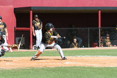 """<div class=""""source"""">submitted</div><div class=""""image-desc"""">SCC senior shortstop/designated hitter Chris Smith lays down a sacrifice bunt in the Patriots' 14-4 loss to Campbellsville.</div><div class=""""buy-pic""""><a href=""""/photo_select/5214"""">Buy this photo</a></div>"""