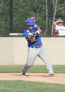 "<div class=""source"">Jimmie Earls</div><div class=""image-desc"">First baseman Jordan Settles gets WC on the board with an RBI single in the first inning against Nelson County last week.</div><div class=""buy-pic""><a href=""/photo_select/4491"">Buy this photo</a></div>"