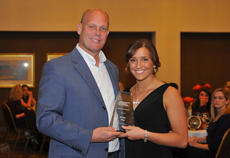 """<div class=""""source"""">Photo by SCC Sports Information</div><div class=""""image-desc"""">St. Catharine's Mandy Gray, right, was named the Mid-South Conference Volleyball Champions of Character recipient. This honor in that it is voted on by the conference athletics directors. There is just one Champions of Character award given for each sport. The award recognizes student athletes for their civic and servant leadership within the campus and community. The Champion of Character program embraces the five core values of integrity, respect, responsibility, sportsmanship and servant leadership. Gray is the first Patriot to receive this significant award. She is a junior defensive specialist from Princeton, Ky.</div><div class=""""buy-pic""""></div>"""