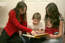 "<div class=""source"">Jimmie Earls</div><div class=""image-desc"">Julie Morris, left, director of Springfield Academy, reads to her son, Mark, and pre-school student Moroni Perez while Morris' daughter, Caylyn, right, assists. The new school is designed to teach students in the seven classical liberal arts.</div><div class=""buy-pic""><a href=""http://web2.lcni5.com/cgi-bin/c2newbuyphoto.cgi?pub=023&orig=web_academy.jpg"" target=""_new"">Buy this photo</a></div>"
