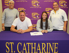 """<div class=""""source"""">Photo by SCC Sports Information</div><div class=""""image-desc"""">Aliyah Johnson (Louisville) has signed on with the Patriots as a dual-sport athlete (basketball and softball) for the upcoming year. She plays shortstop on the softball field and guard on the basketball court.</div><div class=""""buy-pic""""><a href=""""/photo_select/16826"""">Buy this photo</a></div>"""