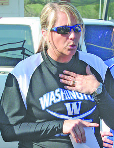 """<div class=""""source"""">Sun File Photo</div><div class=""""image-desc"""">Christy Baker was one of three coaches selected to fill vacant spots at WCHS.</div><div class=""""buy-pic""""><a href=""""/photo_select/16548"""">Buy this photo</a></div>"""