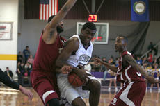 """<div class=""""source"""">Jimmie Earls</div><div class=""""image-desc"""">St. Catharine junior center Ervin Williams, center, leads the Patriots with 252 points in 15 games for a 16.8 ppg average. The Patriot men open the second half of the season at home Jan. 12 hosting Southern Polytechnic State University.</div><div class=""""buy-pic""""><a href=""""/photo_select/6369"""">Buy this photo</a></div>"""