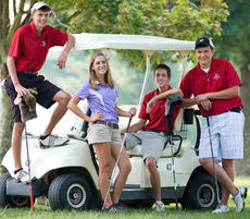 """<div class=""""source"""">Photo by Bramel Professional Photography</div><div class=""""image-desc"""">The senior boys' golfers' high school careers ended at the regional tournament, but girls' senior Amanda Cox will be moving on to state.</div><div class=""""buy-pic""""></div>"""