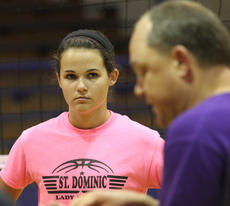 """<div class=""""source""""></div><div class=""""image-desc"""">Elizabeth Medley looks on as St. Catharine head coach Jason McDannold gives instructions to the Washington County players during last week's camp.</div><div class=""""buy-pic""""><a href=""""http://web2.lcni5.com/cgi-bin/c2newbuyphoto.cgi?pub=023&orig=web_img_5287.jpg"""" target=""""_new"""">Buy this photo</a></div>"""