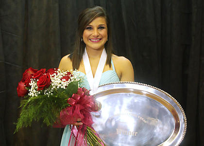 Lizzy Graves is the Distinguished Young Woman of Washington County for 2012.