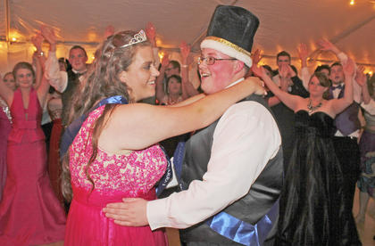Jared Baker and Mary Beth Begley were named Washington County High School's 2016 prom king and queen.