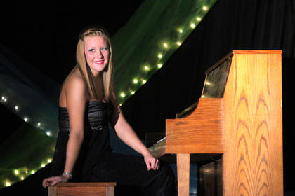Maegen Satterly played Its Your Day by Yiruma on piano.