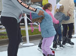 Christmas skating rink brings out community