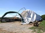 High winds strike county