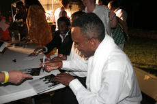 """<div class=""""source"""">Jeff Moreland</div><div class=""""image-desc"""">Members of Bill Pinkney's Original Drifters signed autographs following Saturday night's concert at Idle Hour Park.</div><div class=""""buy-pic""""><a href=""""/photo_select/1388"""">Buy this photo</a></div>"""