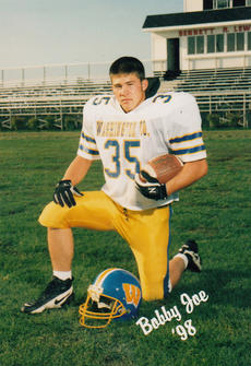 "<div class=""source"">Photo submitted</div><div class=""image-desc"">Bobby Joe Mattingly was a member of the 11-1 1998 district champion Commander football team.</div><div class=""buy-pic""></div>"