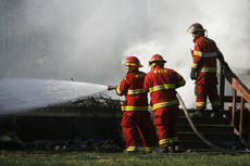 """<div class=""""source"""">Jesse Osbourne</div><div class=""""image-desc"""">Firefighters battled a blaze at 2713 Tatum Springs Road in Willisburg on Friday afternoon. </div><div class=""""buy-pic""""><a href=""""/photo_select/10356"""">Buy this photo</a></div>"""