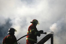 """<div class=""""source"""">Jesse Osbourne</div><div class=""""image-desc"""">Firefighters battled a blaze at 2713 Tatum Springs Road in Willisburg on Friday afternoon. </div><div class=""""buy-pic""""><a href=""""/photo_select/10358"""">Buy this photo</a></div>"""
