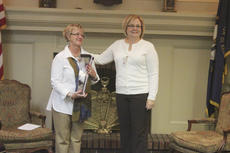"""<div class=""""source"""">Photo by Brandon Mattingly</div><div class=""""image-desc"""">Former BPW President JoAnn Mudd-Miller, right, presented current president, Ginny White-Schatzke, with the award for 2013 Woman of the Year.</div><div class=""""buy-pic""""><a href=""""/photo_select/15249"""">Buy this photo</a></div>"""