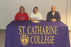 "<div class=""source"">submitted</div><div class=""image-desc"">Mercer County High School soccer standout Savannah Fox, center, signs to play at St. Catharine College. She is joined by her mother Jennifer Fox, left, and St. Catharine College head coach Paul Patton, right.</div><div class=""buy-pic""><a href=""/photo_select/5522"">Buy this photo</a></div>"