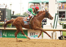 "<div class=""source"">Jeff Moreland</div><div class=""image-desc"">Animal Kingdom won the 137th Kentucky Derby Saturday at Churchill Downs with jockey John Valazquez up.</div><div class=""buy-pic""><a href=""/photo_select/8609"">Buy this photo</a></div>"