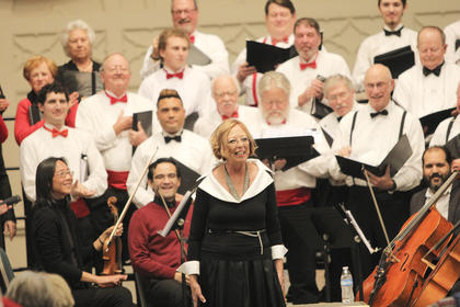 The Mid-Kentucky Chorus held its 21st annual Christmas Concert over the weekend at St. Catharine Motherhouse.