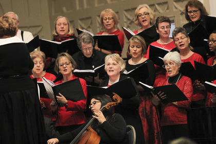 """""""We try to think about what our audiences will enjoy,"""" said chorus conductor Teresa Tedder. """"We want to make sure that the audience will recognize at least most of the arrangements."""""""