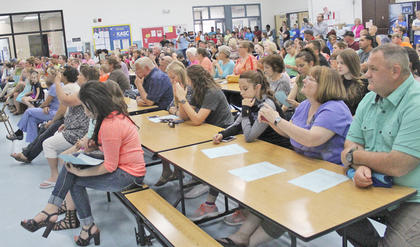 Several friends and family members came to watch the Washington County Elementary School students perform.