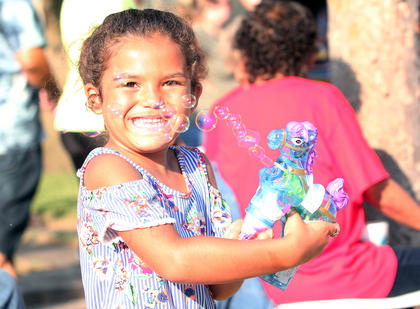Springfield's 16th annual African American Heritage Festival brought downtown to life Friday. The Festival included a parade—including the 100 Men Walk for this year's theme of African American Men of Honor, food vendors, live music and kids' activities.