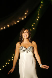 Lizzy Graves, the 2012 Distinguished Young Woman of Washington County, sang for the audience.