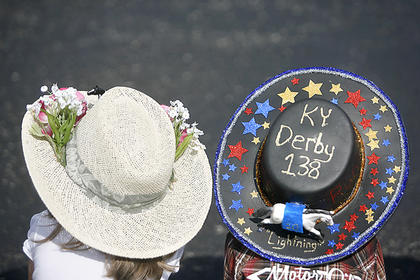 Students at North Washington Elementary School prepared for the Kentucky Derby on Friday by having a parade to show off their Derby hats, ties and other projects they made during the week.
