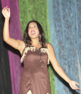"""Lucy Coleman Irvin sings """"Colors of the Wind"""" from the Disney film, """"Pocahontas."""""""