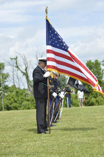 Willisburg's Memorial Day festival featured a variety of events meant to honor veterans, including a presentation of colors.
